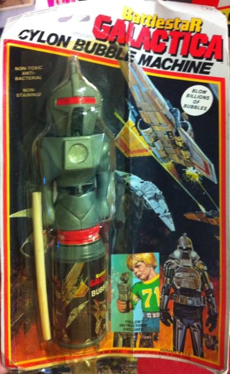 Battestar Galactica Cylon Bubble Machine
