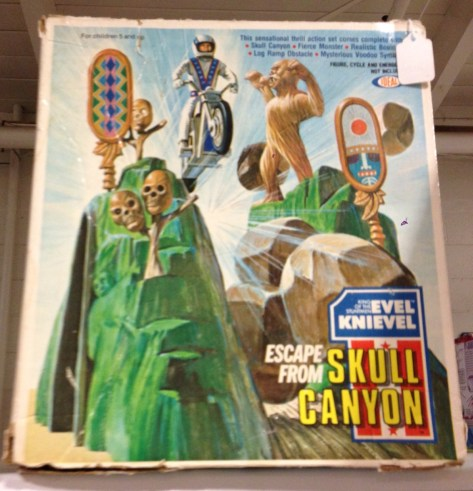 Evel Knievel Escape from Skull Canyon