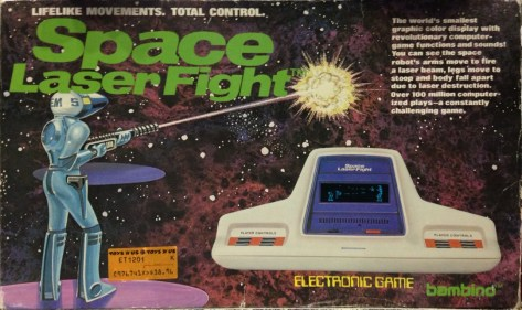 Space Laser Flight Game