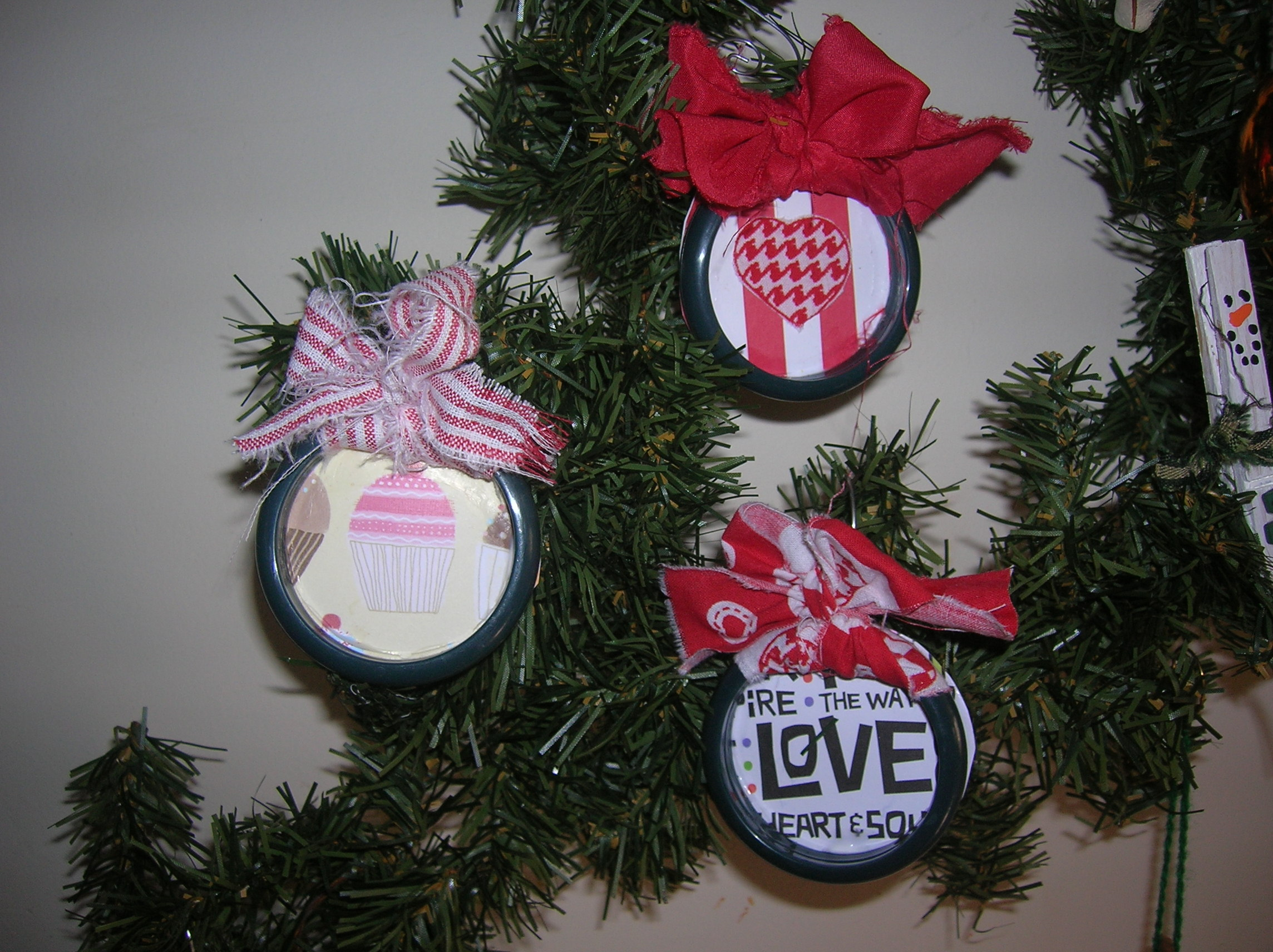 Curtain Ring Ornaments Valentine S Mardi Gras Theme