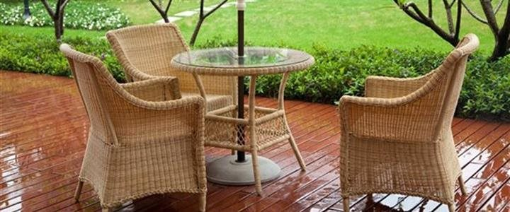 How to protect your garden furniture for the winter?