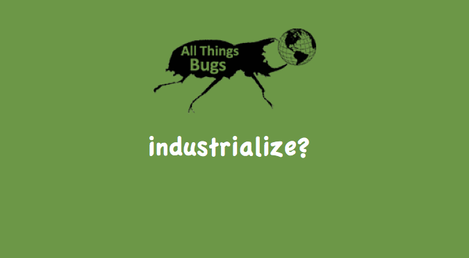 Why is Insect Farming Slow to Industrialize?