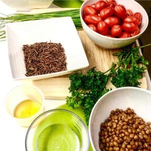 Mealworm Lentil Salad 2
