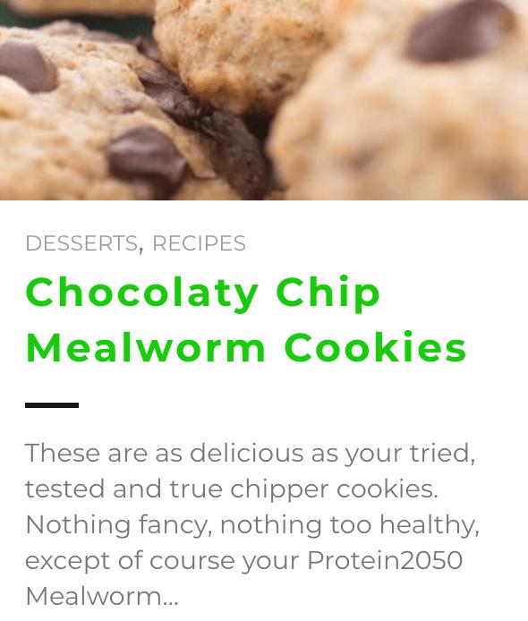 Entomofarms Recipes