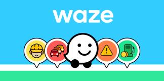 Pedágio no Waze