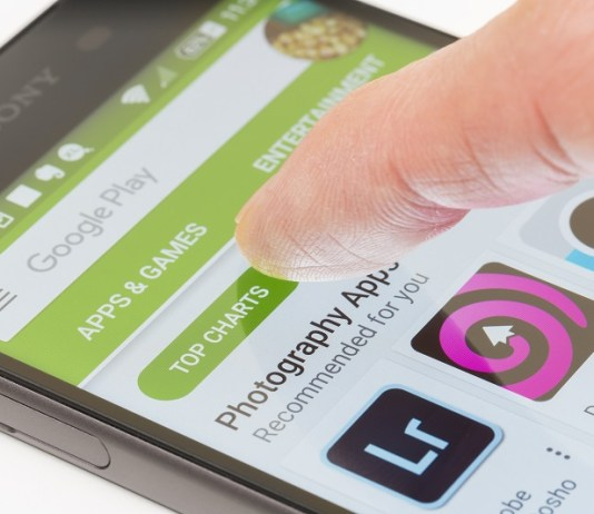 App parando no Android