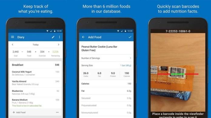 Aplicativos de Dieta para Android