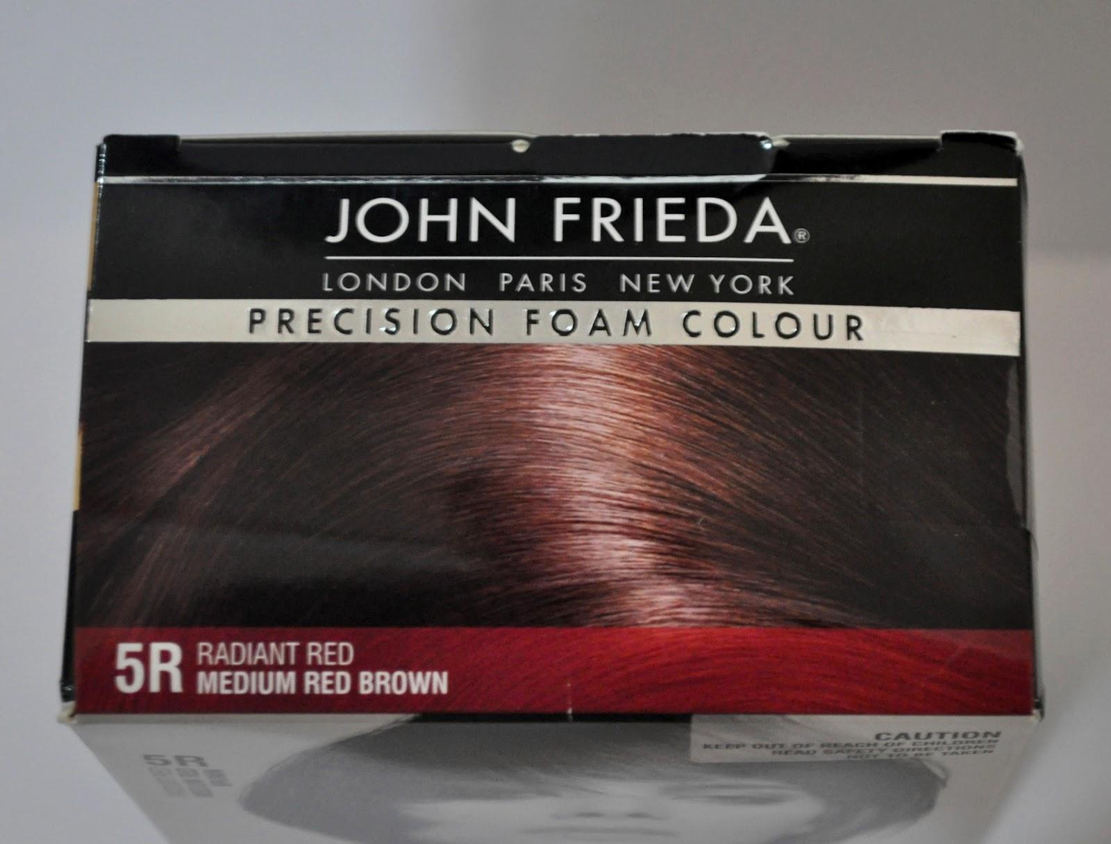 DIY Hair Colour With John Freida Precision Foam Colour