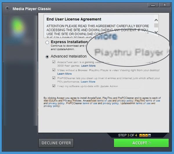 playthru player installer