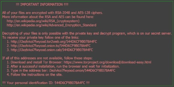 thor ransomware virus