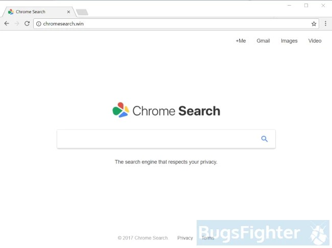 chromesearch.win hijacker