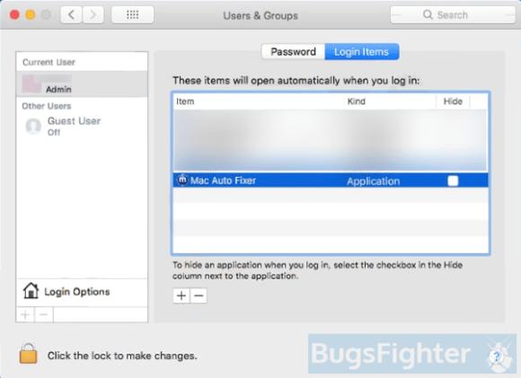 Mac Auto Fixer startup