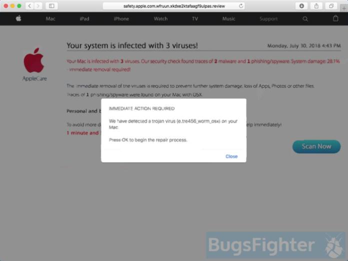 Mac Auto Fixer pop-up ad