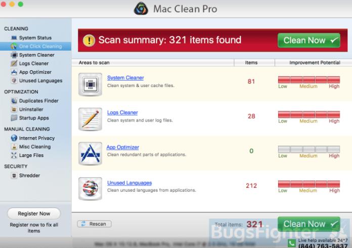 Mac Clean Pro