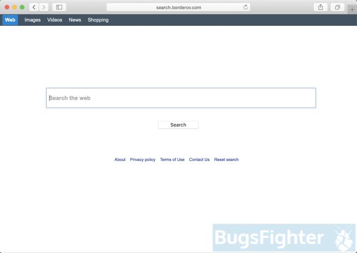 Search.borderov.com hijacker