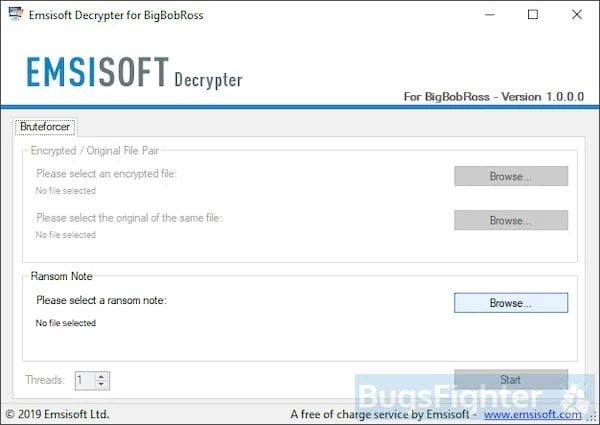 How to remove Obfuscated (BigBobRoss) Ransomware and decrypt