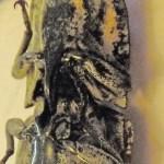 Eyed click beetle (Alaus oculatus); prosternal spine and mesosternal notch