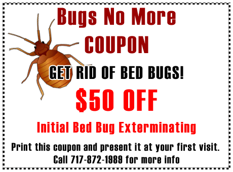 coupon for bed bugs