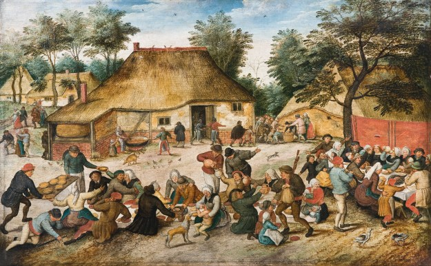'The Peasant Wedding' by Pieter Brueghel the Younger via Google Art Project/Wikimedia Commons