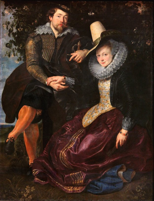 Peter Paul Rubens - 'The Artist and his First Wife Isabella Brant in the Honeysuckle Bower'