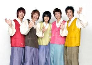 TVXQ wears hanbok for Korean thanksgiving