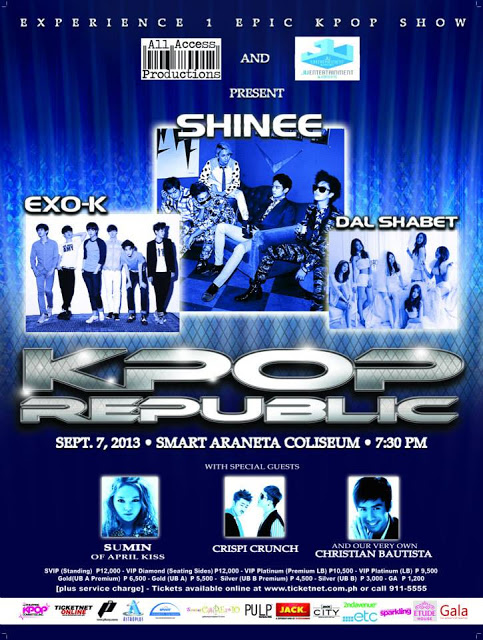 Kpop Republic 2013 in Manila Philippines