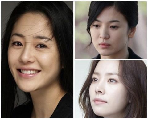 Go Hyun Jung has the most beautiful skin among Korean actresses.