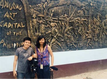 with my SP - lian buan