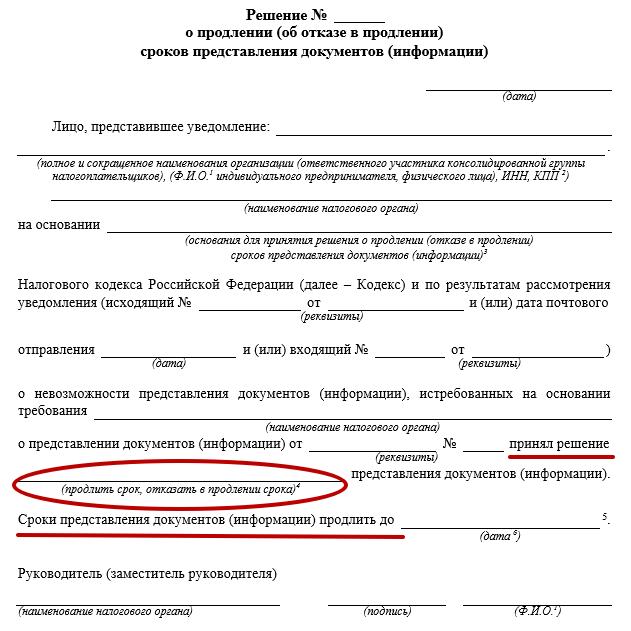 Письмо о невозможности предоставления документов образец