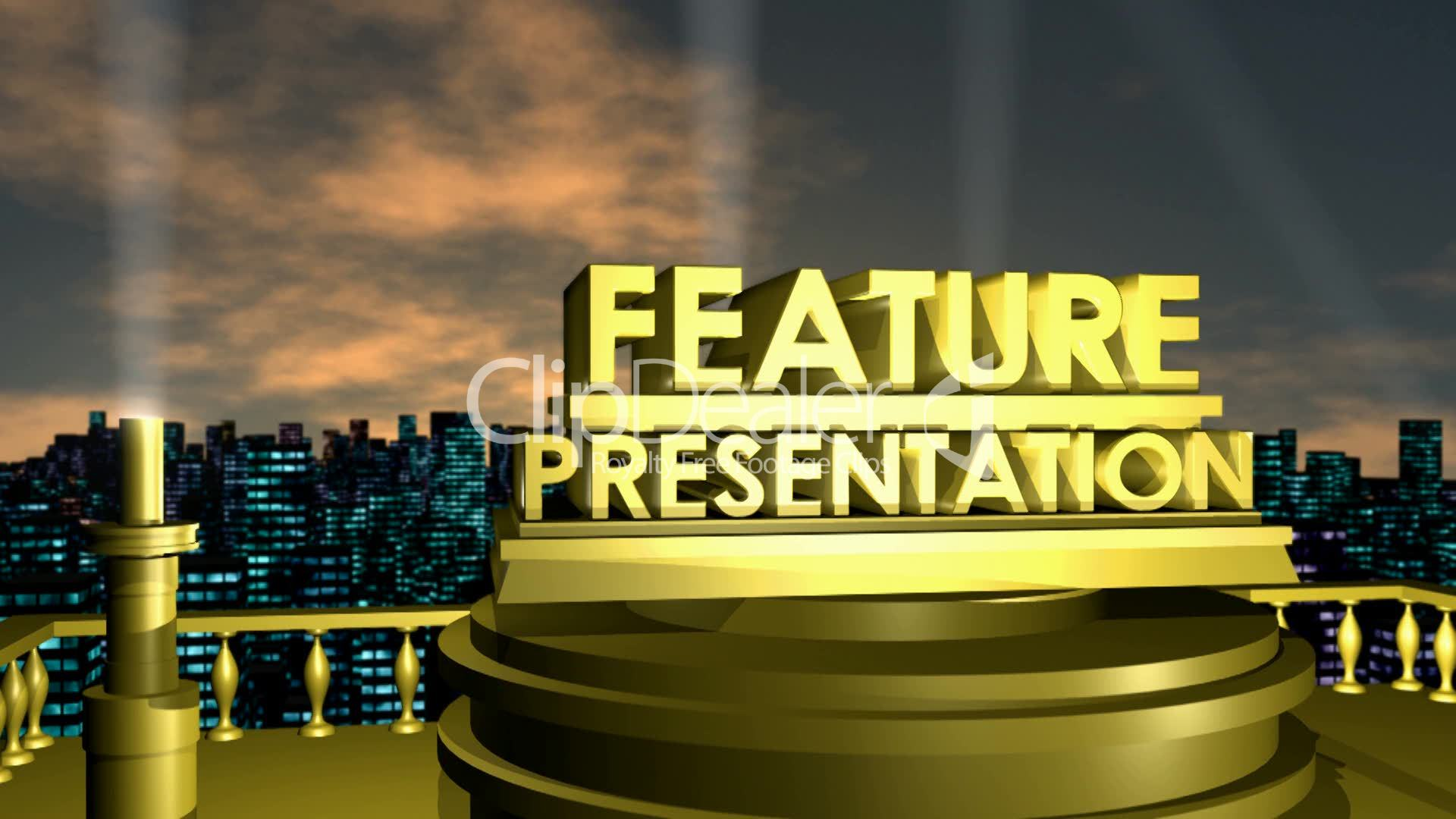 Feature Presentation Hd1080 Royalty Free Video And Stock