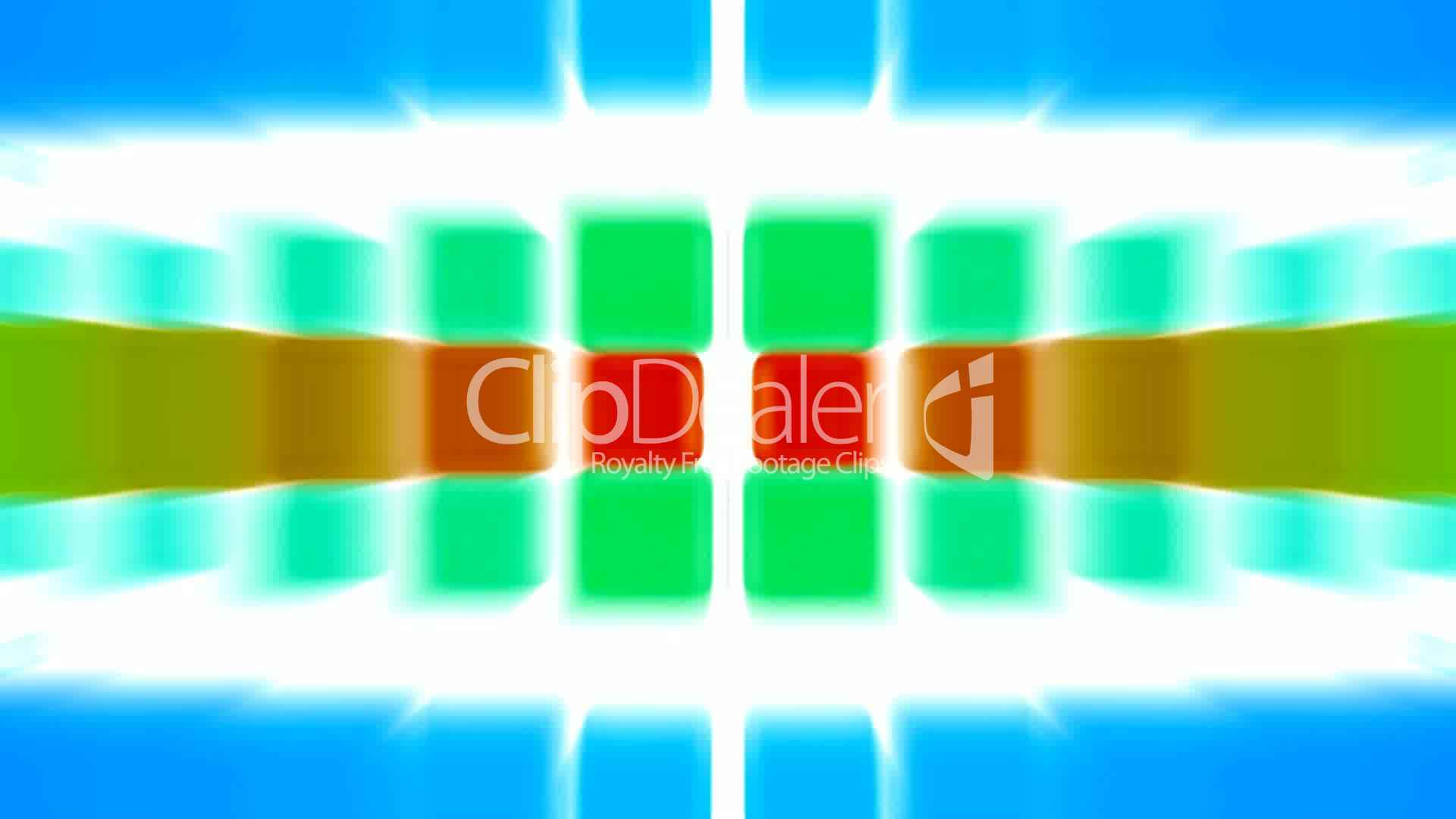 Color Block Light Rays Computer Web Tech Background