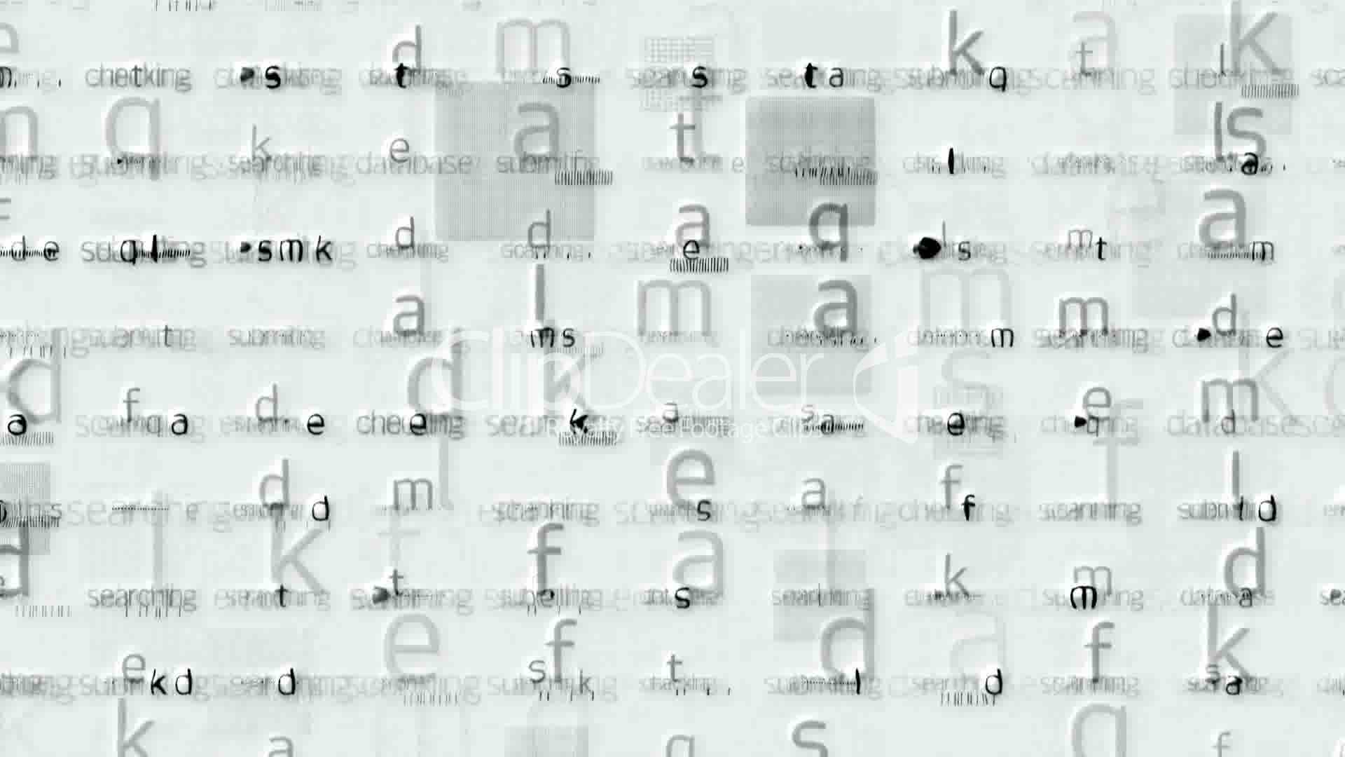 Letter Matrix Background Alphabet Computer Screen Tech Web