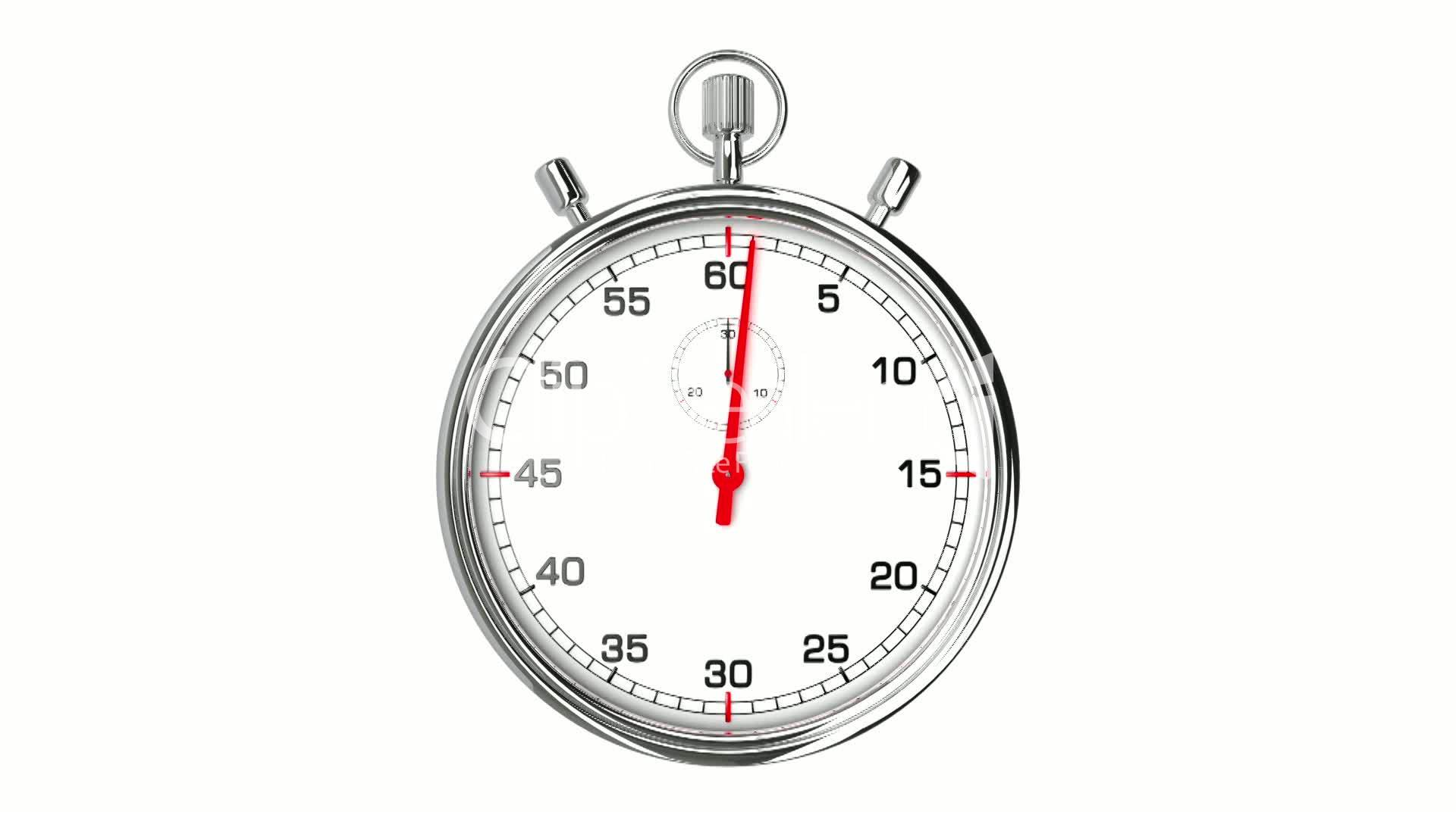 Stopwatch Loop Realtime Royalty Free Video And Stock Footage