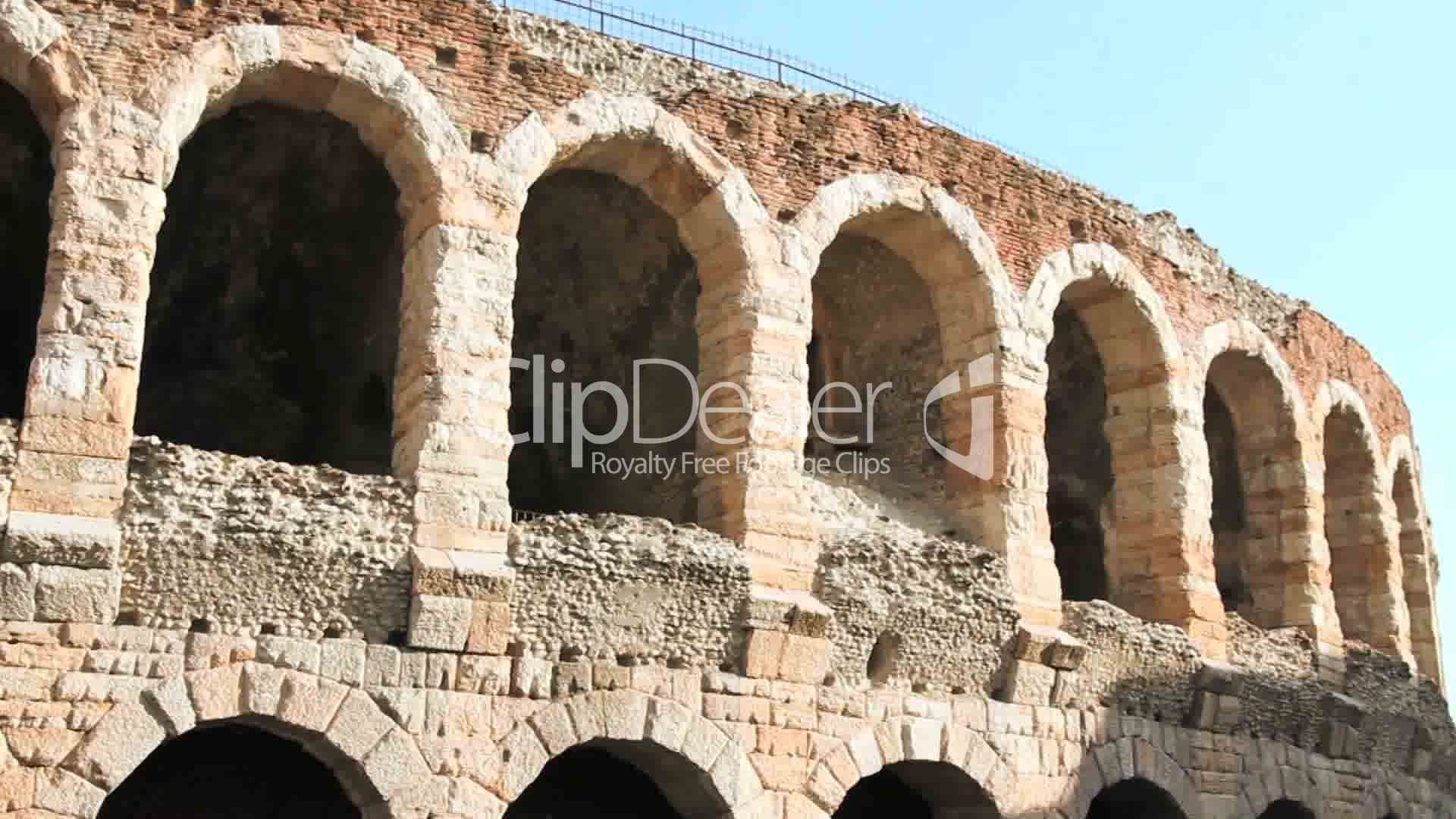 Arena In Verona Royalty Free Video And Stock Footage