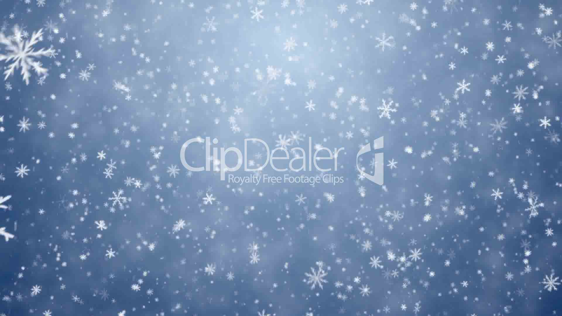 Falling Snowflakes Snow Background Royalty Free Video