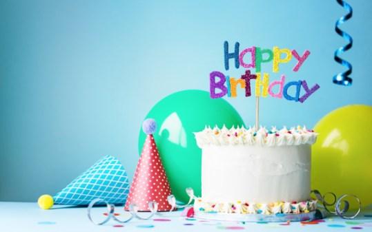 Happy Birthday Virtual Background Contentlab