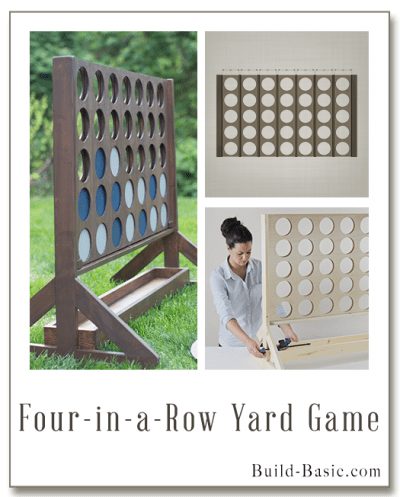 How To Build An Outdoor Connect Four Game