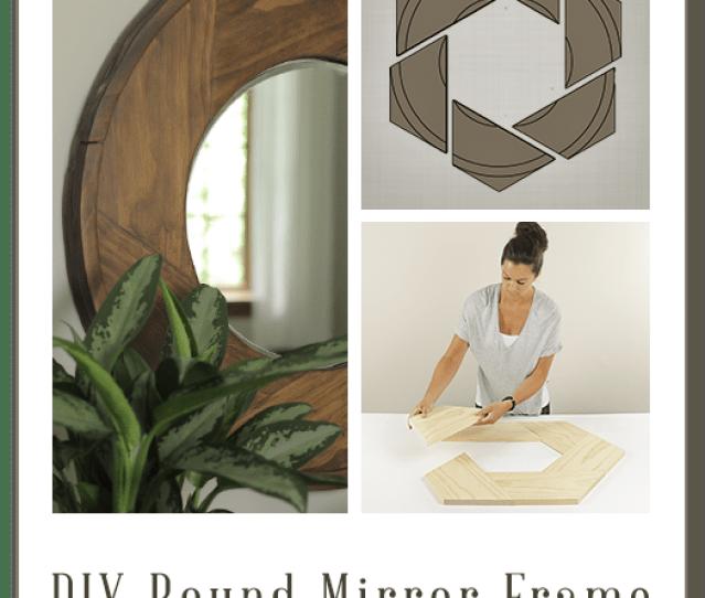 Build Diy Round Mirror Frame Building Plans By Buildbasic Www Build Basic