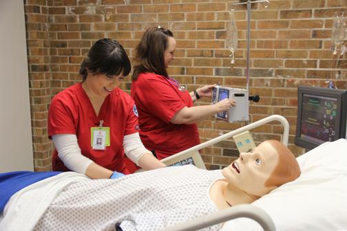 Providing Care Nursing Students