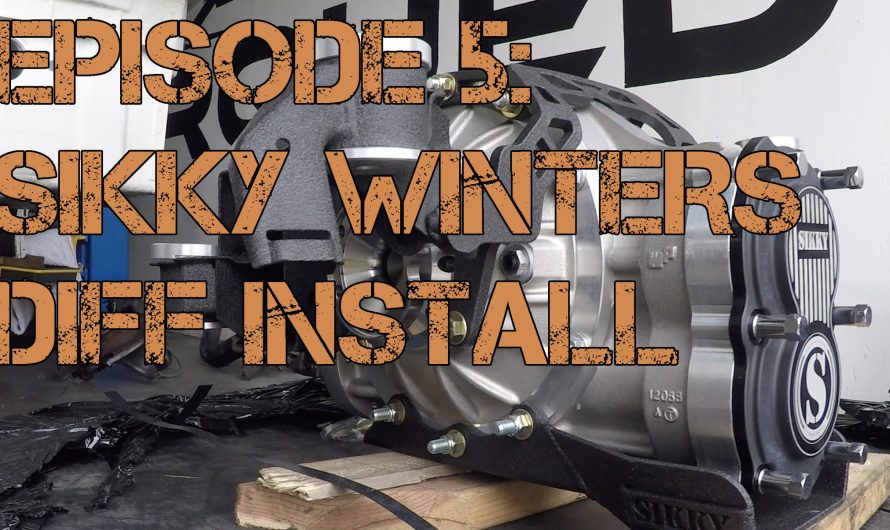 BMW LS3 Widebody Track Car Episode 5: Sikky Winters Diff Install