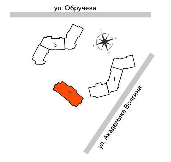 жк архитектор на карте