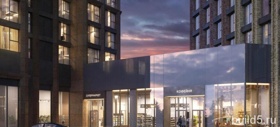 ЖК Will Towers первые этажи