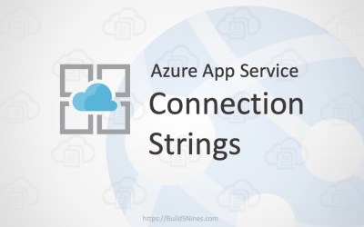 Azure Web App: Connection Strings