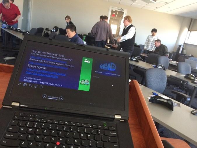2016 Milwaukee Global Azure Bootcamp Summary