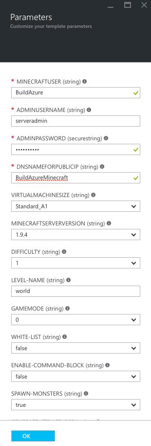 ConfigurationMinecraft-002-ServerParameters