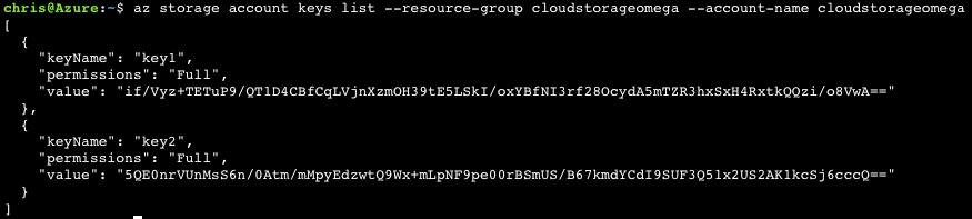 Azure CLI 2.0: Generate SAS Token for Blob in Azure Storage 3