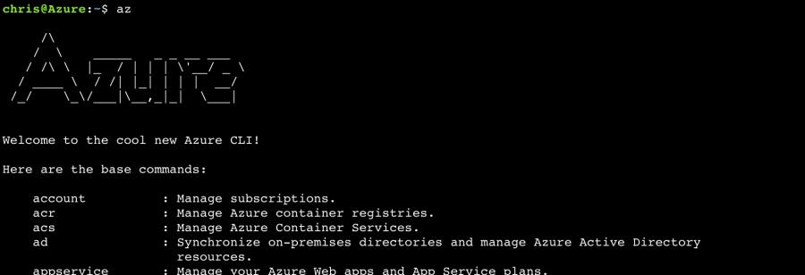 Azure CLI 1.0 vs 2.0 Compared, Installation and Usage 3