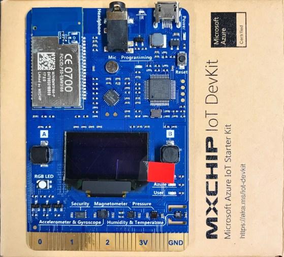 Azure IoT Developer Kits (AZ3166) Have Arrived