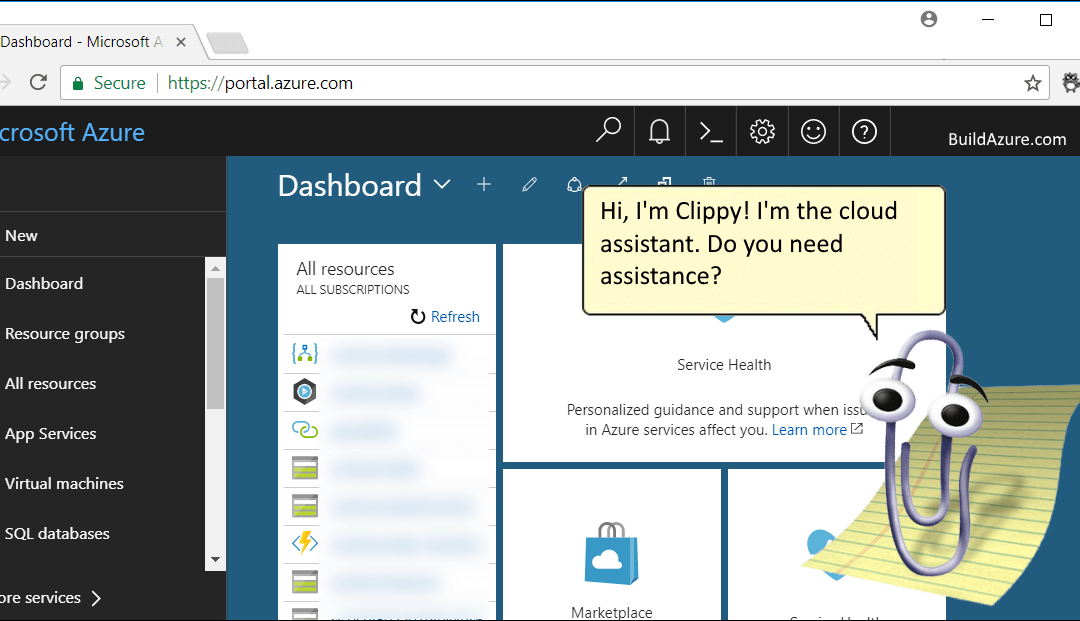 Personal Assistants in the Cloud and Clippy's Comeback!