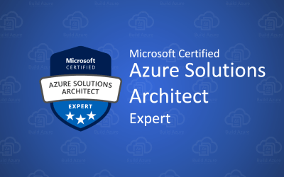 Microsoft Certified: Azure Solutions Architect certification